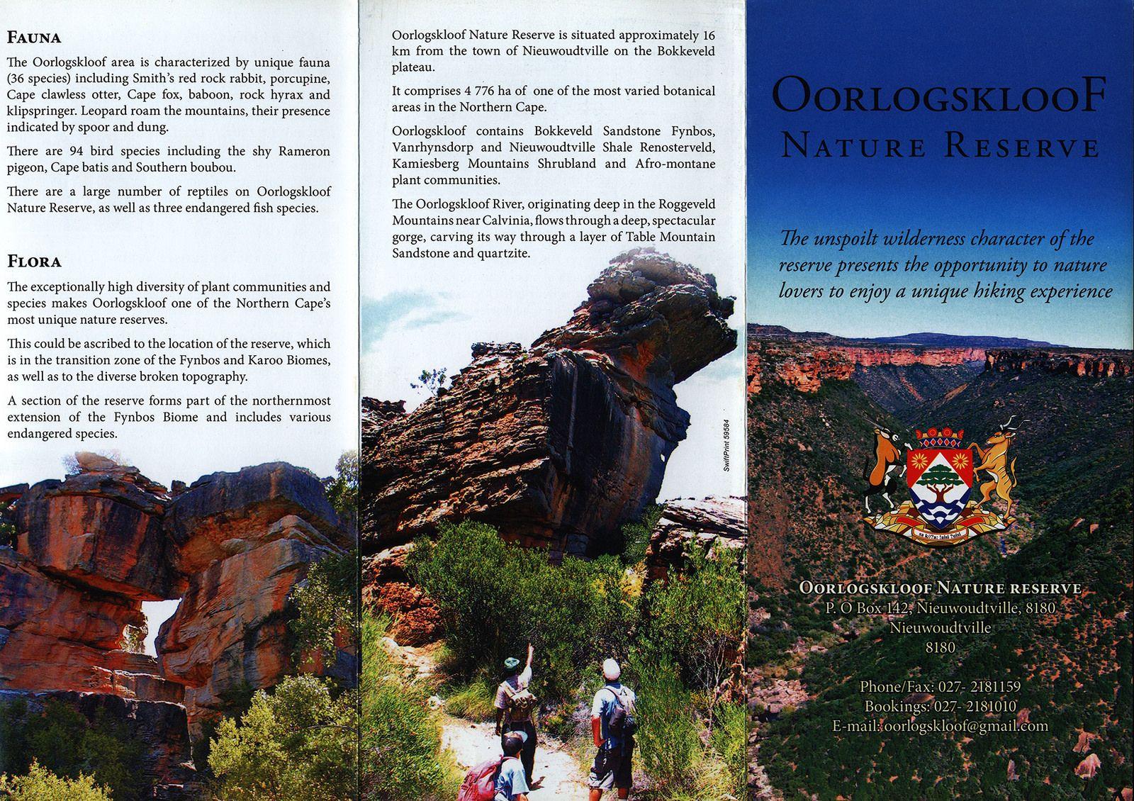 Oorlogskloof Nature Reserve; 2013, Northern Cape, South Africa | Nature  reserve, Northern cape, Nature