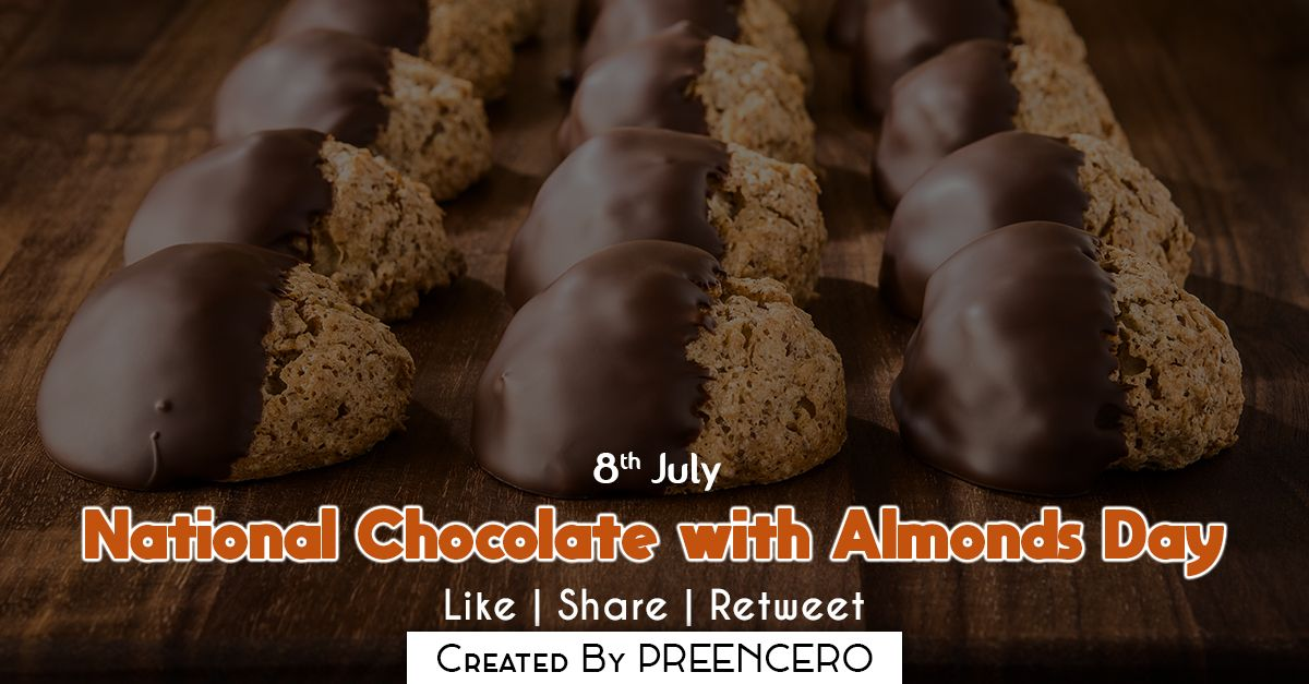 National Chocolate With Almonds Day Chocolate Almond Day