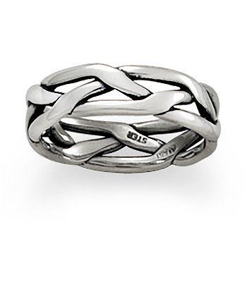 Ring Tresse Wedding Band James Avery