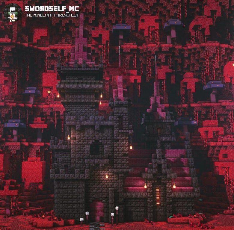 The Blackstone Castle Minecraftbuilds In 2020 Minecraft Crafts Minecraft Tutorial Minecraft Blueprints