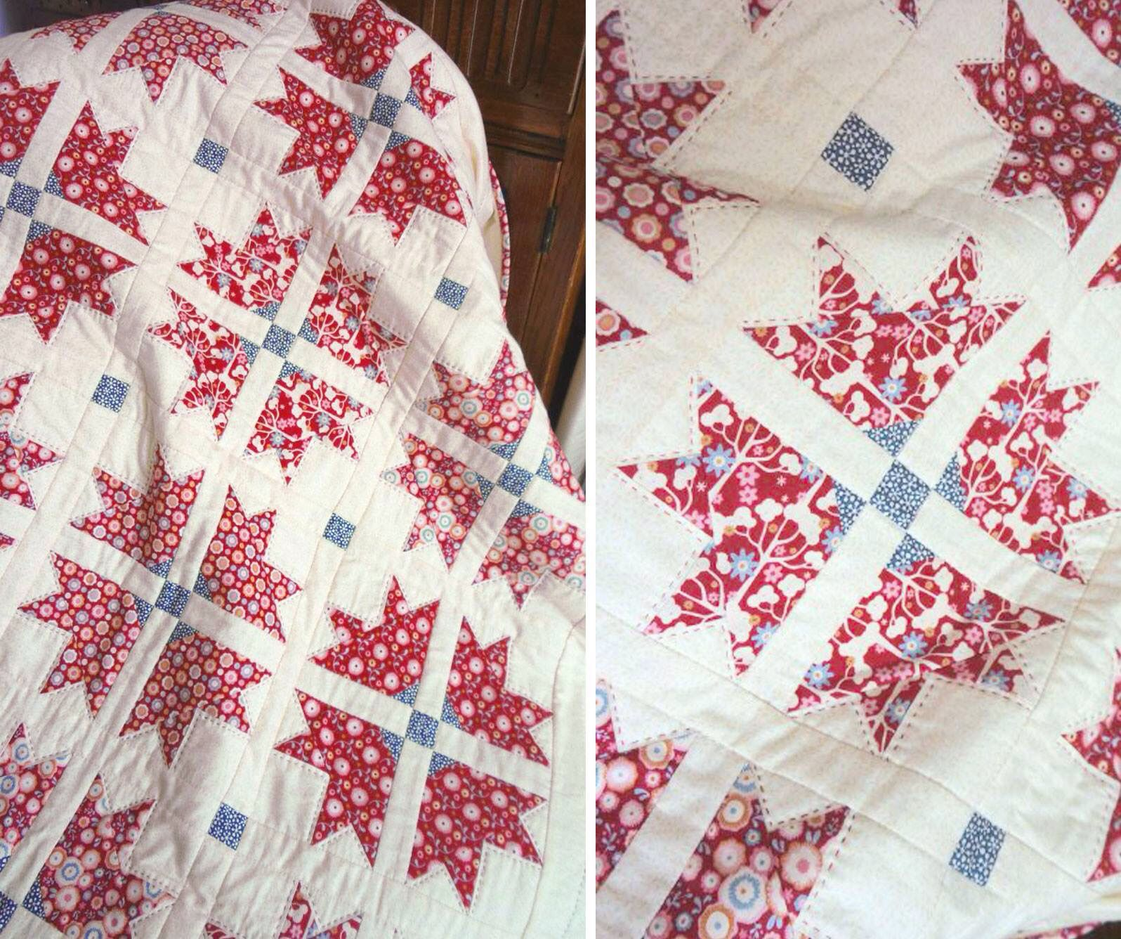 http://www.mccallsquilting.com/mccallsquilting/articles/Cross-and-Crown-FREE-Fresh-Classic-Baby-Quilt-Pattern