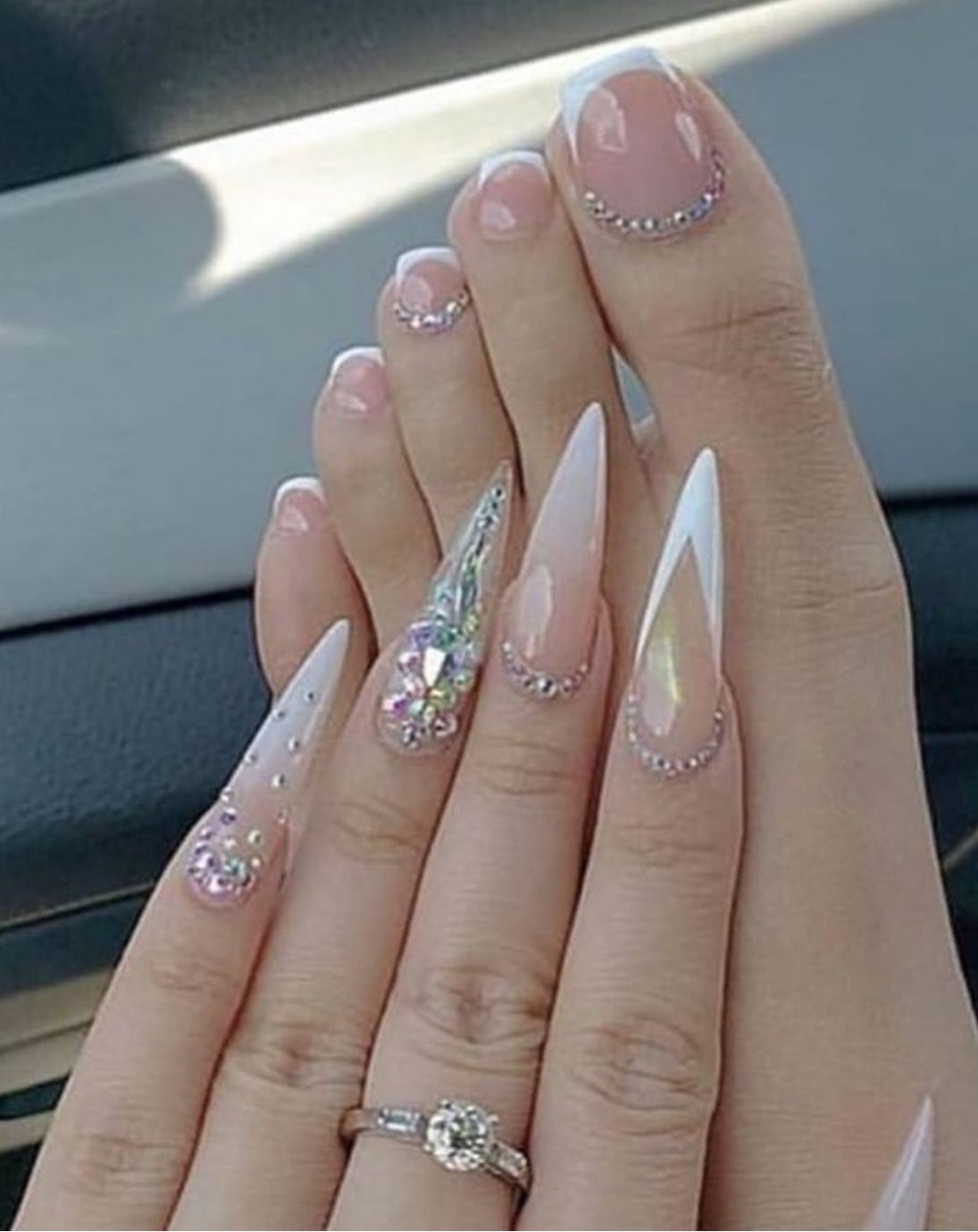 40+ Shimmering Nail Design Ideas - The Glossychic