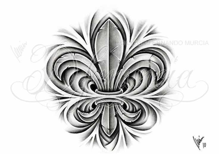 Fleur De Lis Cross Tattoo Fleur Lis Tattoo Design Ideas Tattoo
