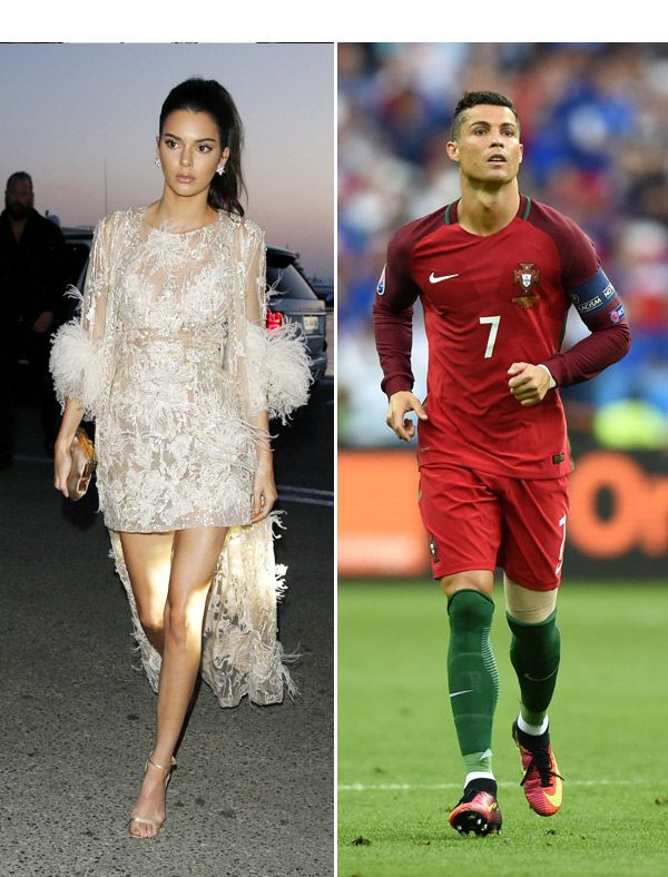 Kim Kardashian And Cristiano Ronaldo Pictures : kardashian, cristiano, ronaldo, pictures, Kendall, Jenner, Cristiano, Ronaldo:, Kardashian, Trying, Kardashian,, Jenner,