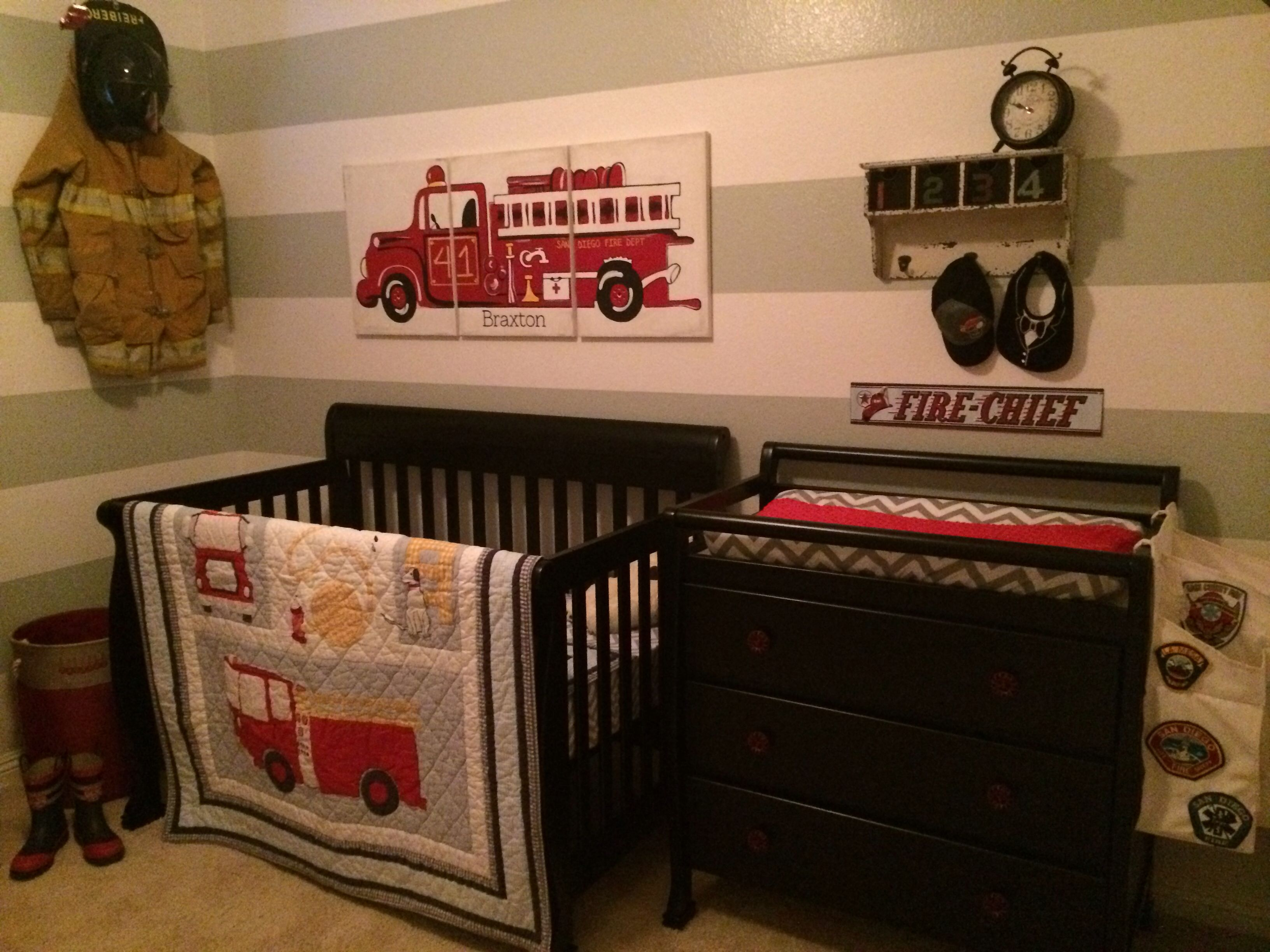 Firefighter Nursery If I 39 M Lucky Enough To Have Little Ones Pinte