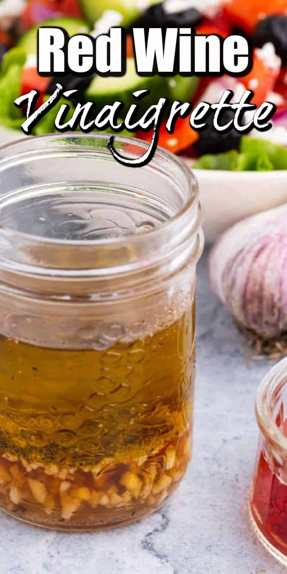 Red Wine Vinaigrette Is A Quick And Easy Salad Dressing With A Wonderful Zesty Flavor Suitable In 2021 Red Wine Vinaigrette Citrus Salad Dressing Vinaigrette Recipes [ 2000 x 1000 Pixel ]
