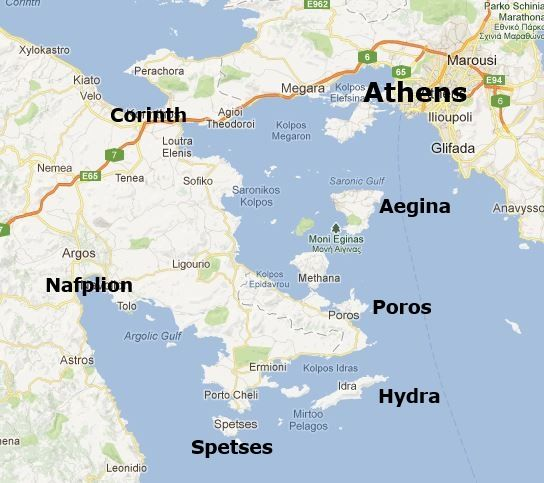 Spetses became very rich through maritime trade in the 18th and 19th
