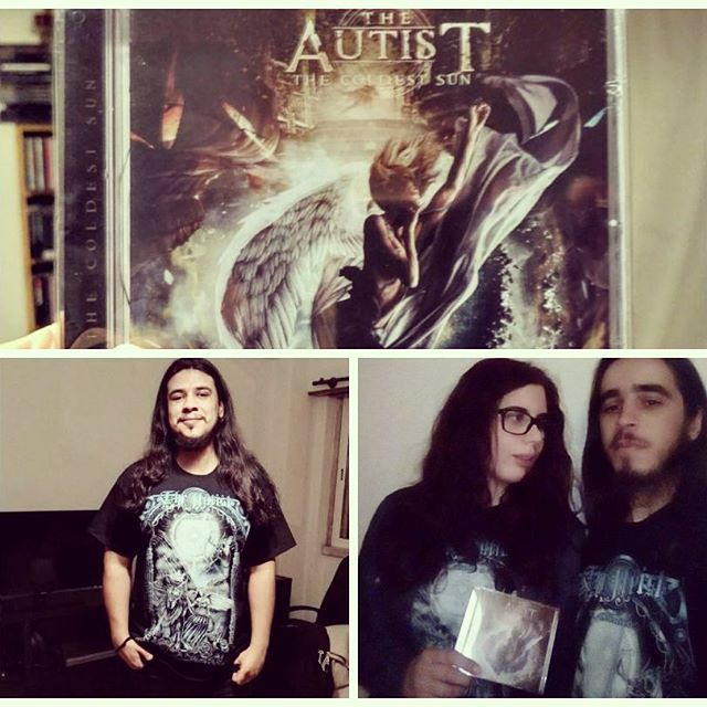 Nice people are sending us their pictures with their #thecoldestsun merch. Do you have yours yet?