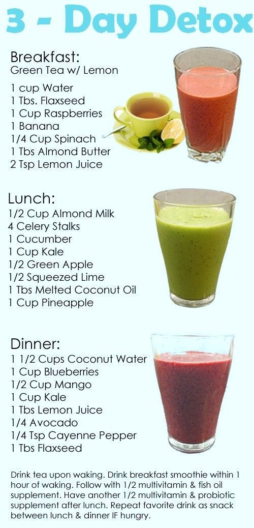 30 Cleansing Foods to Naturally Detox Your Body