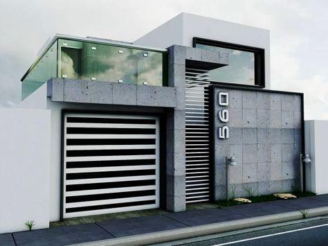 Casa grande de dos pisos una construcci n moderna y de for Foto casa minimalista