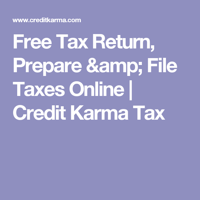 Free tax return prepare file taxes online credit karma tax free tax return prepare file taxes online credit karma tax ccuart Image collections