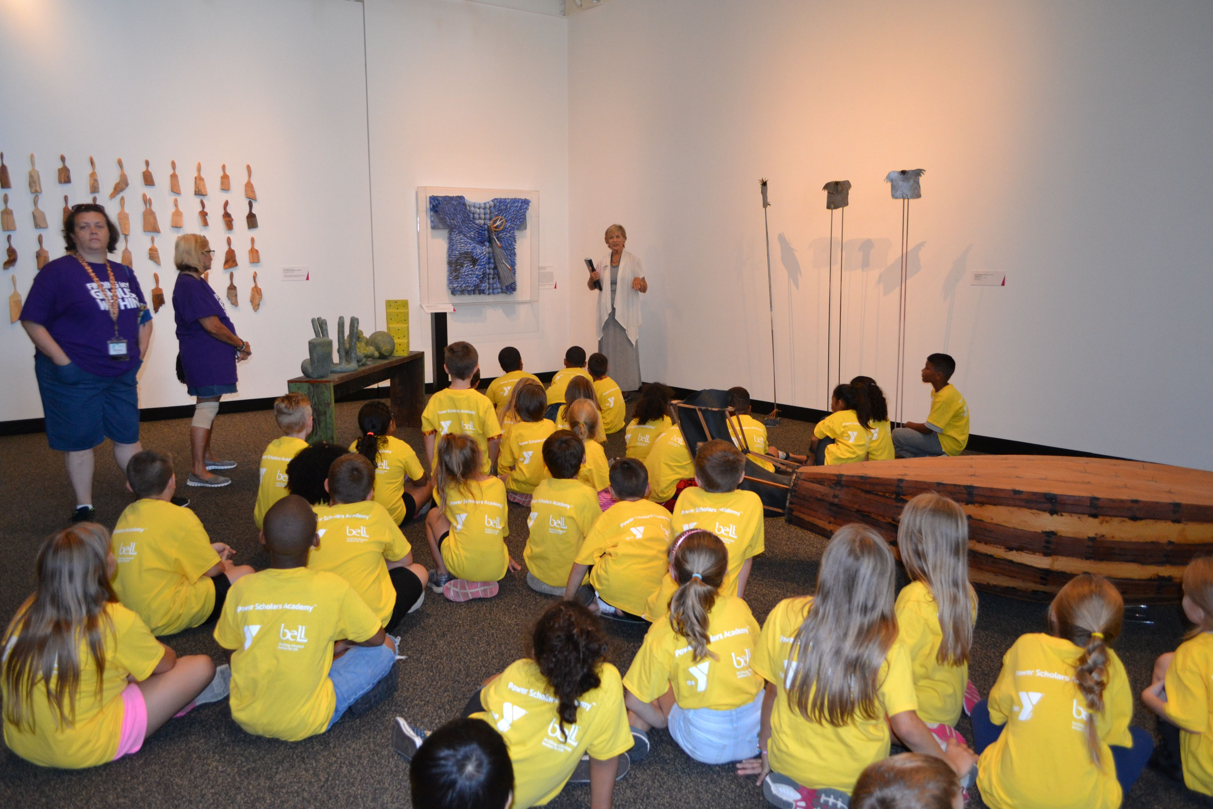 Lrma provides art tours for school groups and summer camps