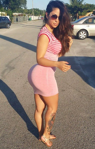 Shorts Thick curvy latina booty