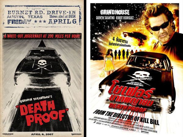 quentin tarantino movie posters grindhouse quentin