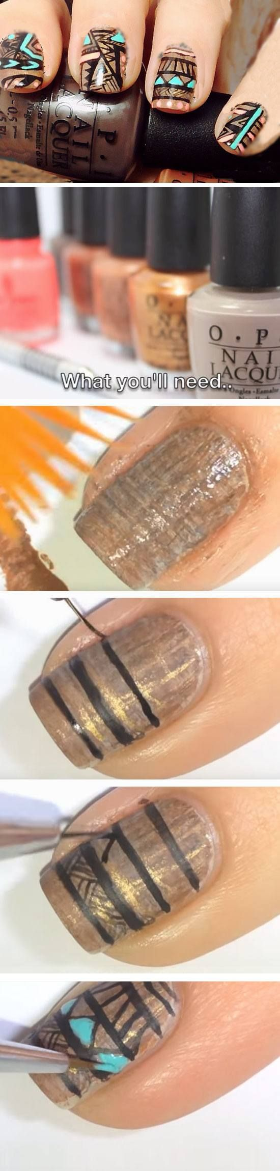 22 Easy Fall Nail Designs for Short Nails | Short nails and Nails ...