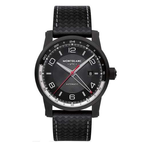 b41a5a32560 Relógio Montblanc Masculino Tecido Preto - 113876 Tecido Preto