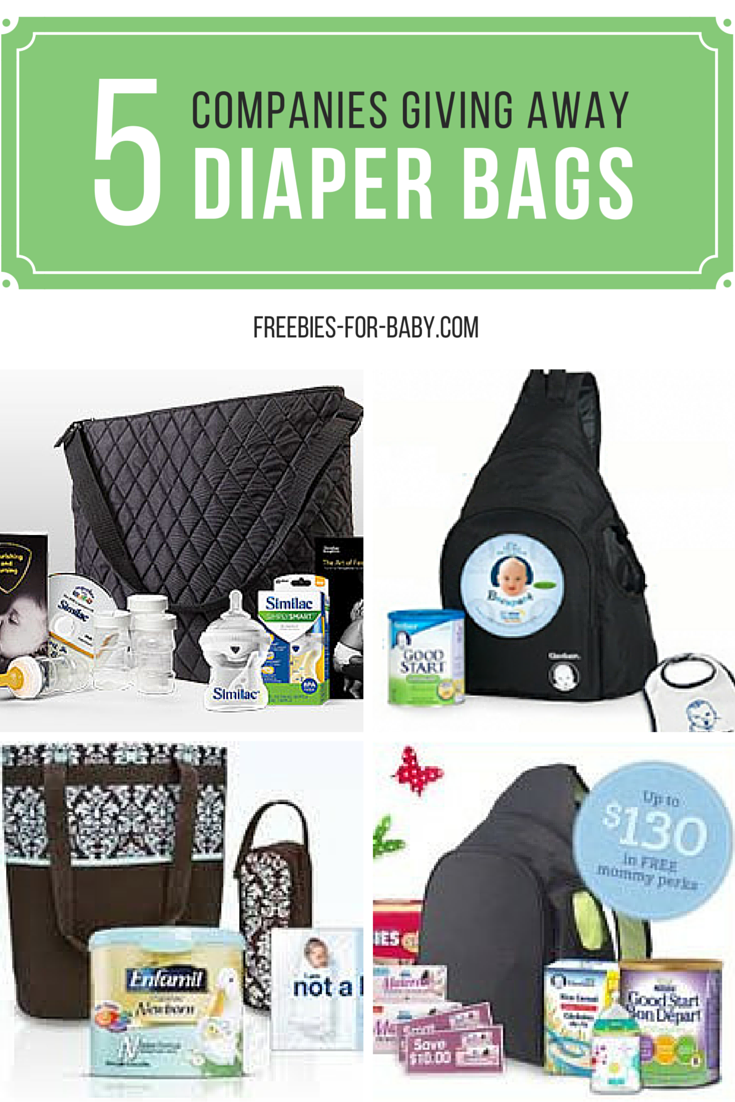24ef1775c 5 FREE Diaper Bags filled with FREE Baby Stuff!