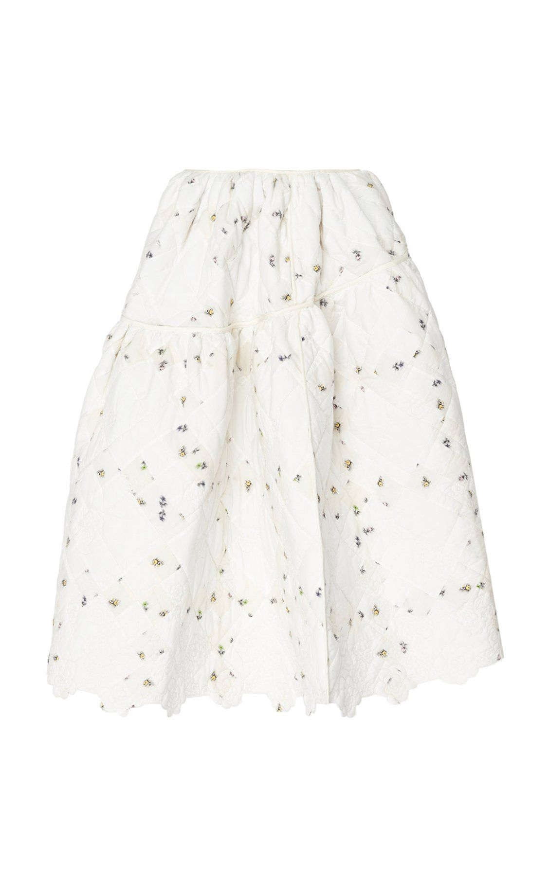 f664c4c4 Rosie A-Line Cotton Ball Skirt by Cecilie Bahnsen PF19   Moda Operandi