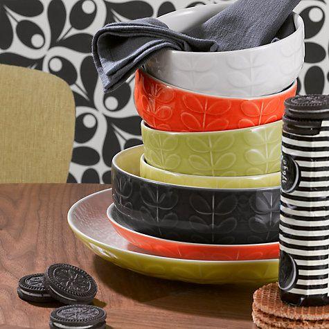 Buy Orla Kiely Raised Stem Tableware Online at johnlewis.com & Buy Orla Kiely Raised Stem Tableware Online at johnlewis.com | Retro ...