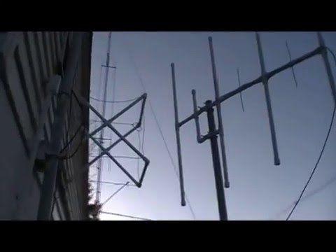 Vhf Uhf Yagi Antenna For Amnateur Radio Dual Band 2m 70cm Ham Radio Ham Radio Dual Band Antenna