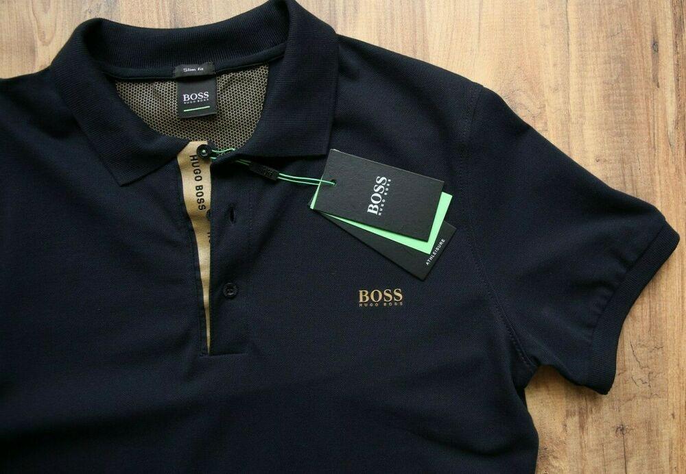 green hugo boss shirt