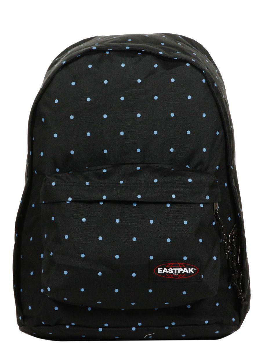 sac dos eastpak out of office dot black k767 38k k76738k trend for kids pinterest. Black Bedroom Furniture Sets. Home Design Ideas