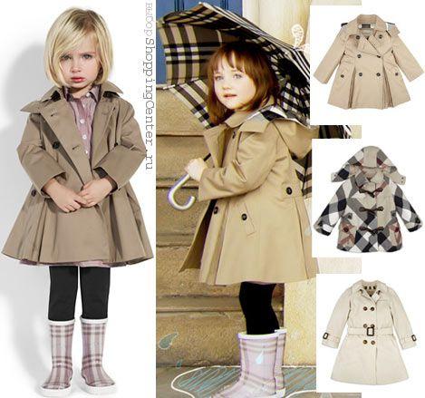пальто плащи для девочек