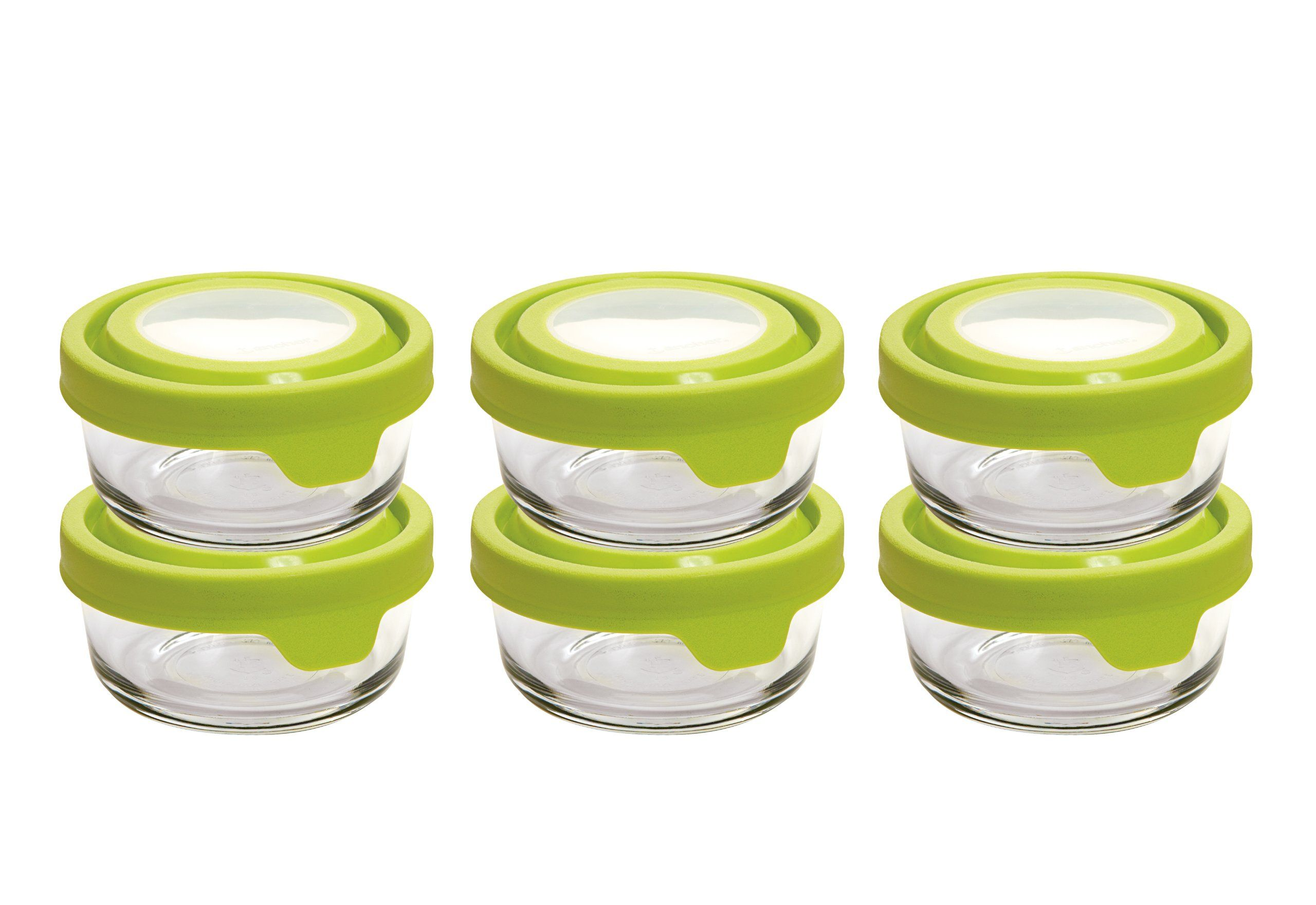 ad23f4ad03bf Amazon.com: Anchor Hocking TrueSeal Glass Round 1 Cup Food Storage ...