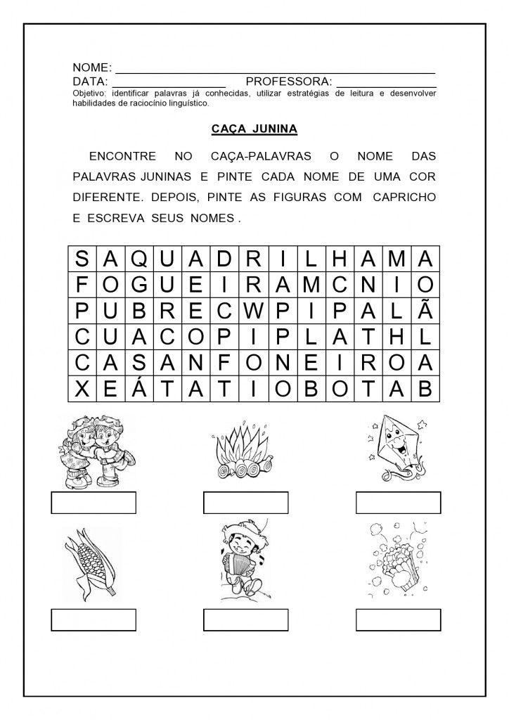 20 Atividades De Matematica E Festa Junina Com Imagens