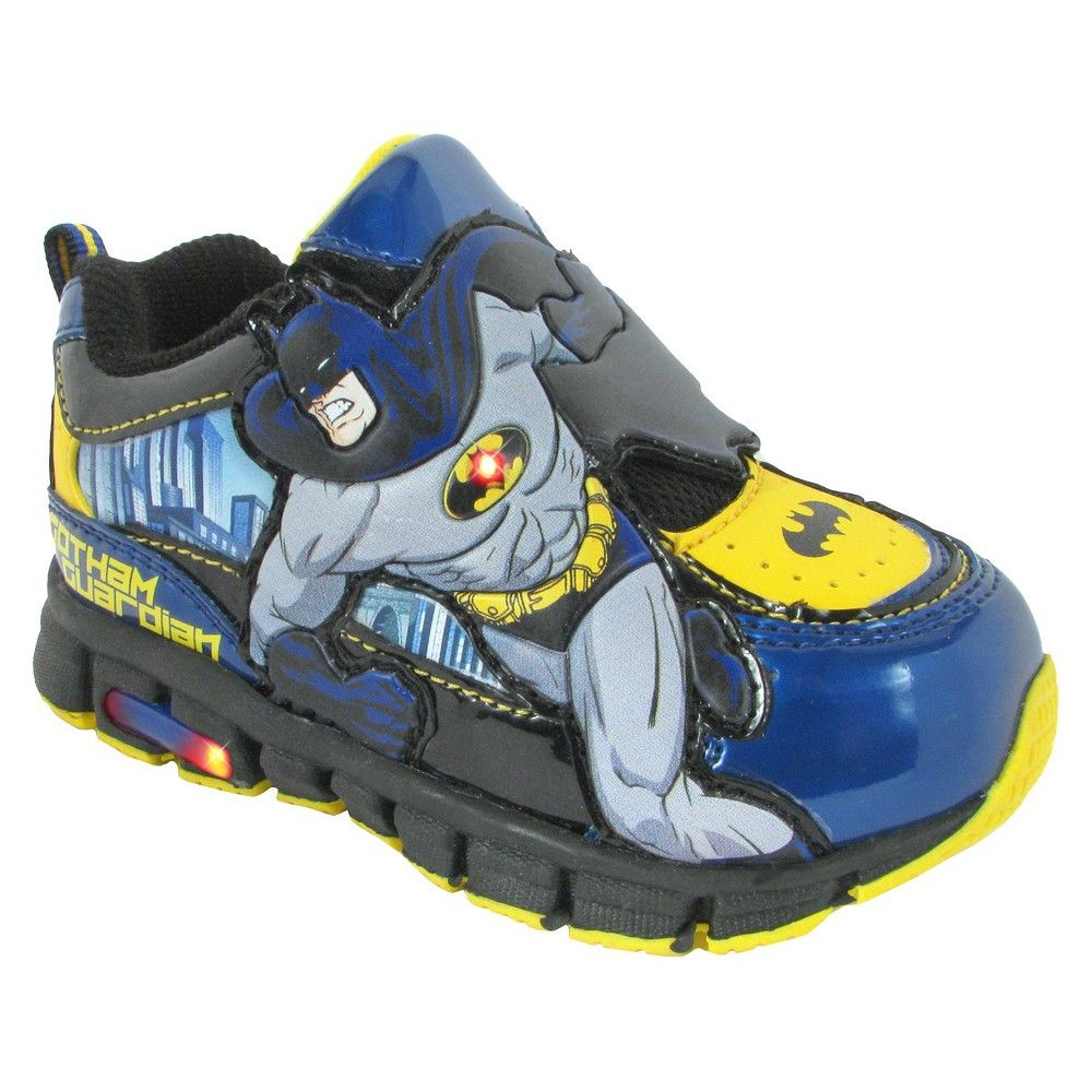 62becfa954cc DC Comics Toddler Boys  Batman Athletic Sneakers - Black 8