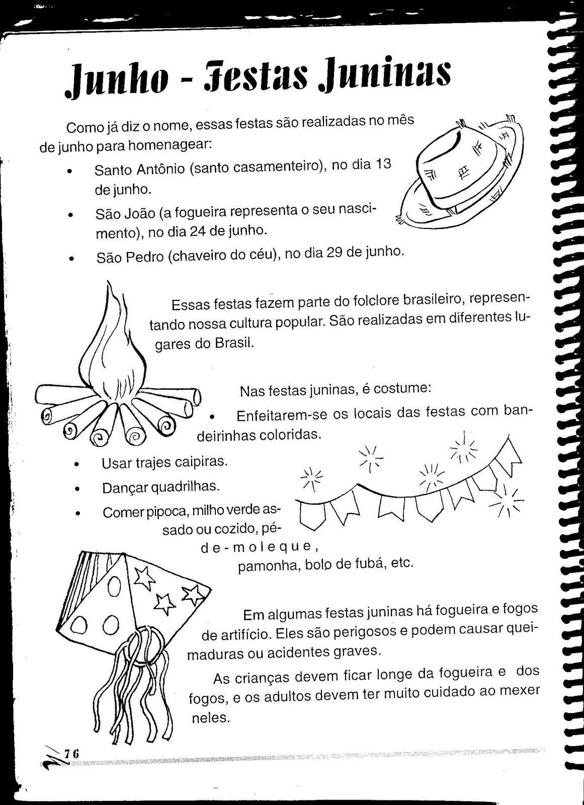 Wwwcanal Educarnet Significado Dos Símbolos Juninos Festa