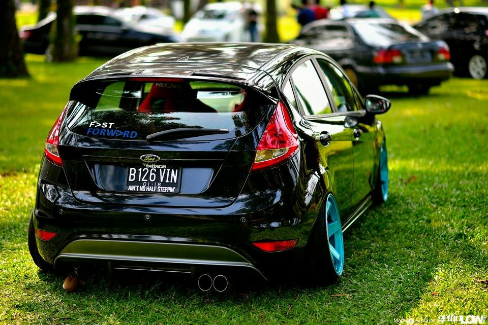Stanced Ford Fiesta Http Www Gettinlow Com Report From Fast