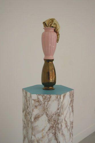 Annie Strachan - Hexagonal Plinth 2011
