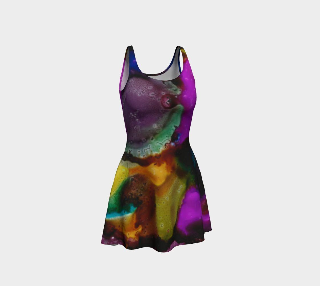Contempo II - Flare Dress