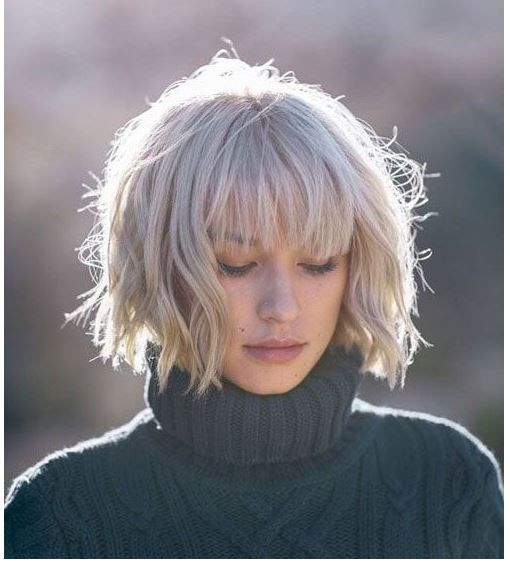 Latest bob hairstyles with bangs –