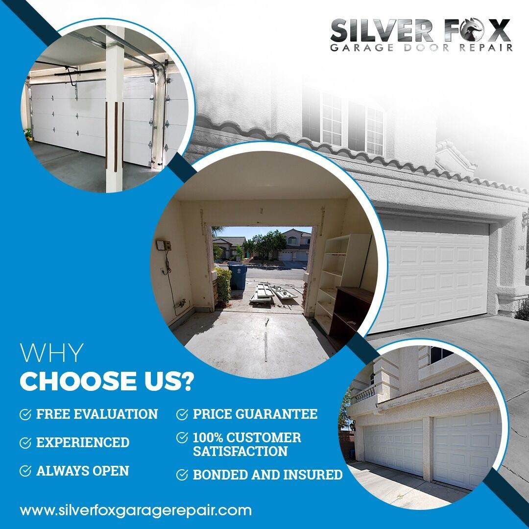 At Silverfox Garage Door We Provide Quality Hassle Free Repair Solutions To Homeowners And Commercial Door Repair Garage Door Spring Repair Best Garage Doors