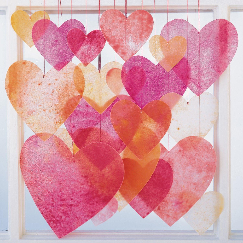 Crayon Hearts | Papel y Costura