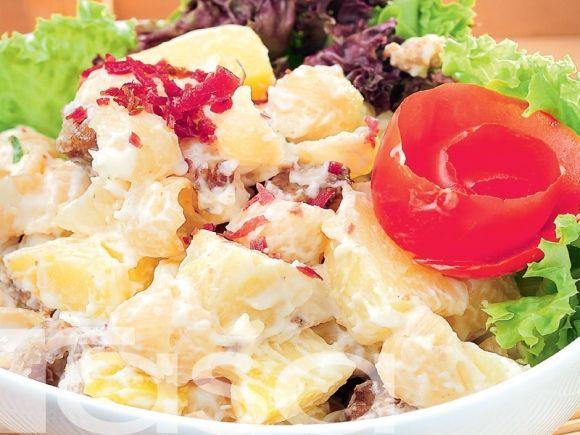 Salad Kentang Pasta Resipi Rasa Salad Pasta Savoury Dishes
