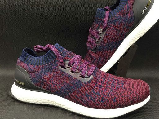 best website f33d1 cb605 adidas Ultra Boost Uncaged Burgundy White Navy UK Trainers 2017 Running  Shoes 2017