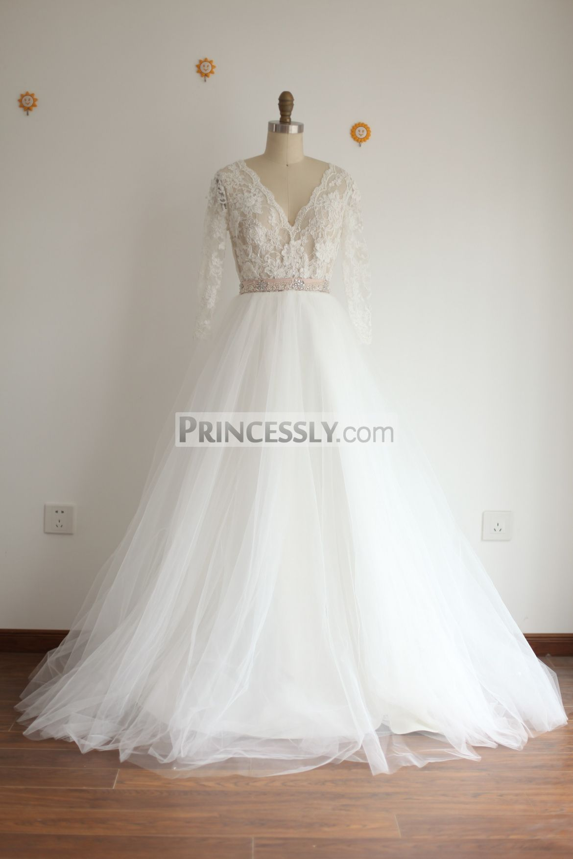 tulle wedding dress with sleeves wedding dresses for plus