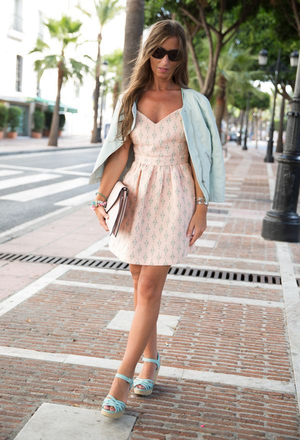 Llamativos zapatos de moda casuales color celeste | Zapatos 2016