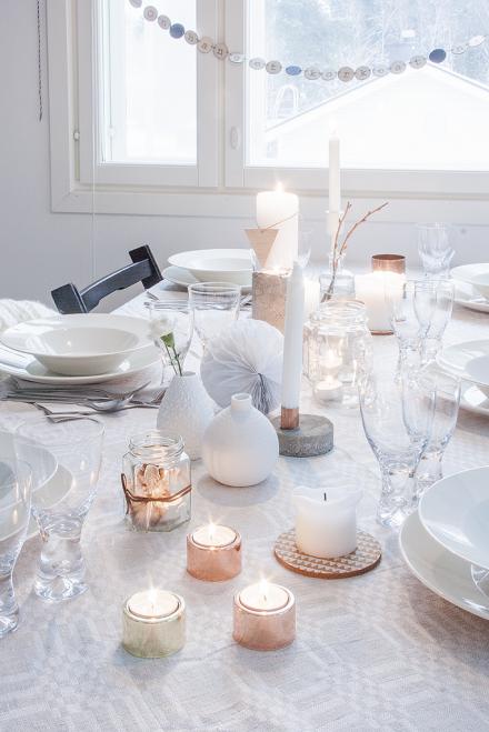 WINTER TABLE SETTING – TALVEN TUNNELMAA RUOKAPÖYDÄSSÄ