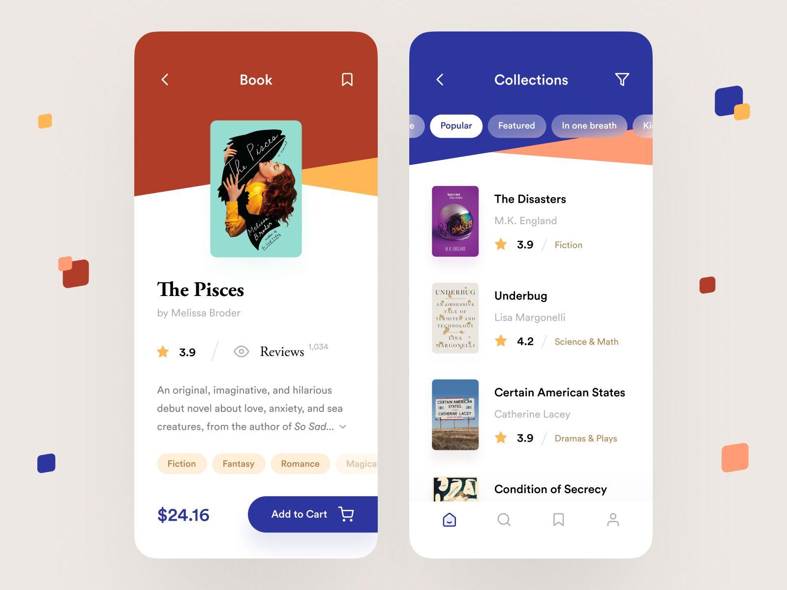 Reading App App Layout App Design App