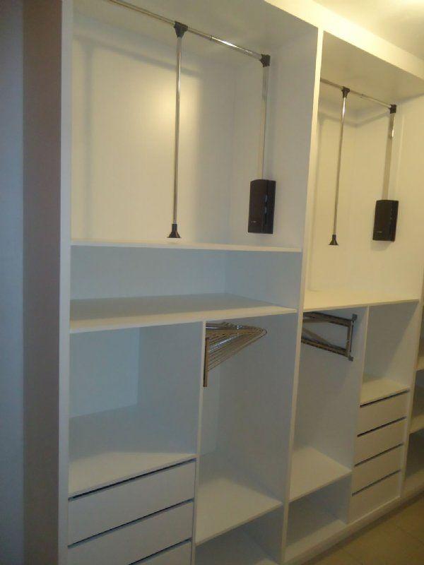 Modelo de closet com extensível 06 | Ideias Suíte | Pinterest