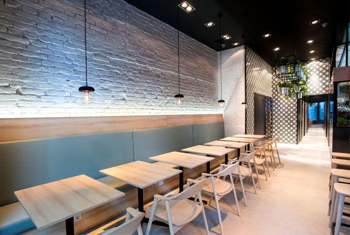 Greek Cuisine Restaurant Decor By Gasparbonta Restaurant Decor