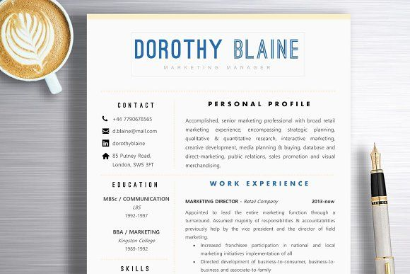Field Marketing Manager Sample Resume Amazing Resume Template  Dorothy  Pinterest  Template Business Resume .