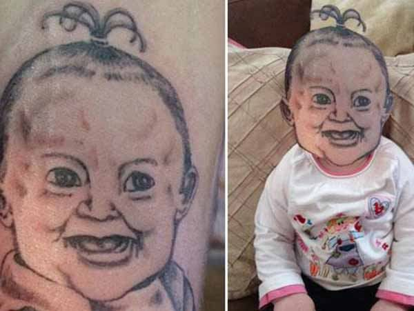 69a9b5a38 Farewell letter from | funny | Terrible tattoos, Bad tattoos, Face swaps