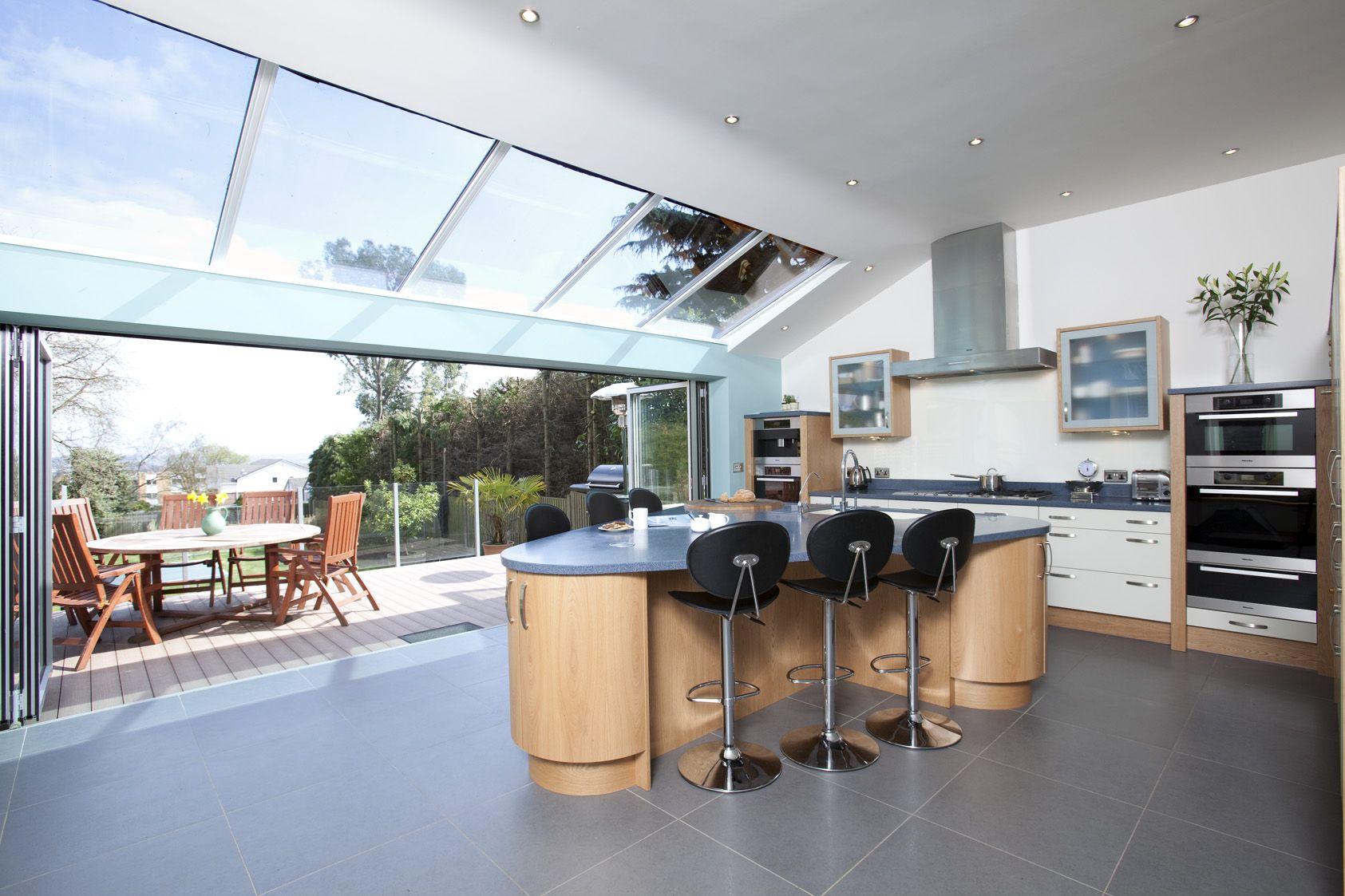 open plan kitchen to outdoor area perfect layout entertaining area