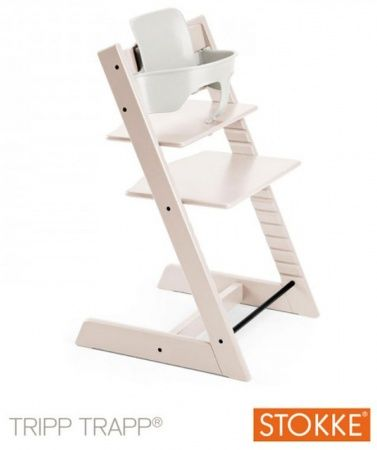 stokke tripp trapp whitewash incl babyset baby aankopen. Black Bedroom Furniture Sets. Home Design Ideas