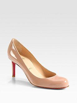 Christian Louboutin Simple 70 Patent Leather Pumps-my dream shoe!